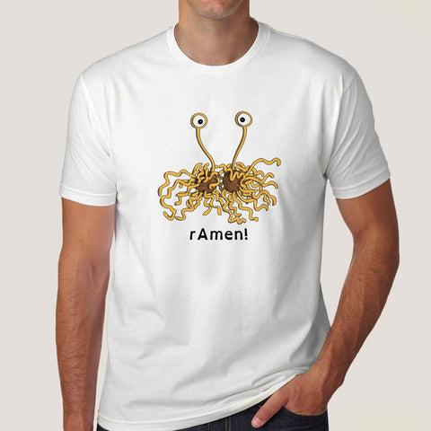 flying spaghetti monster t-shirt india