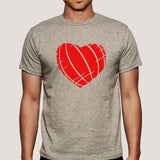Ripped Heart Men's T-shirt