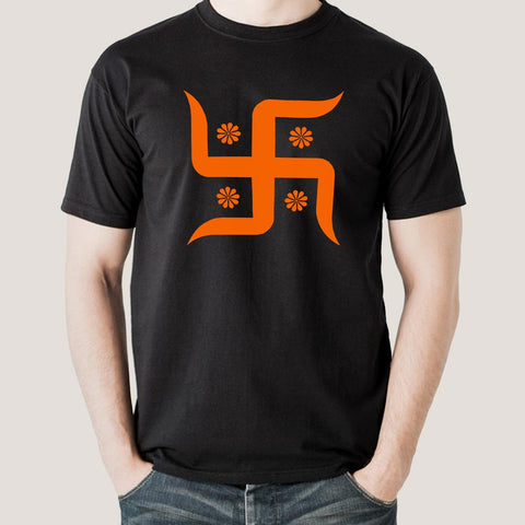 swastika hinduism t-shirt india