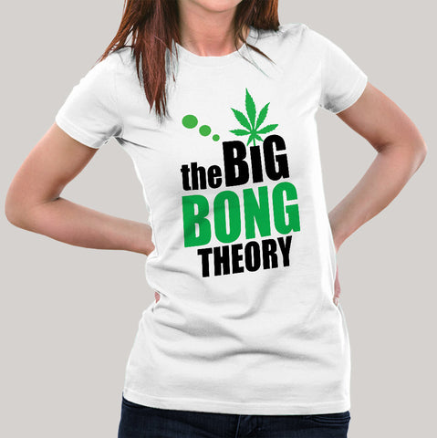 Buy The Big Bong Theory Women's T-shirt At Just Rs 349 On Sale