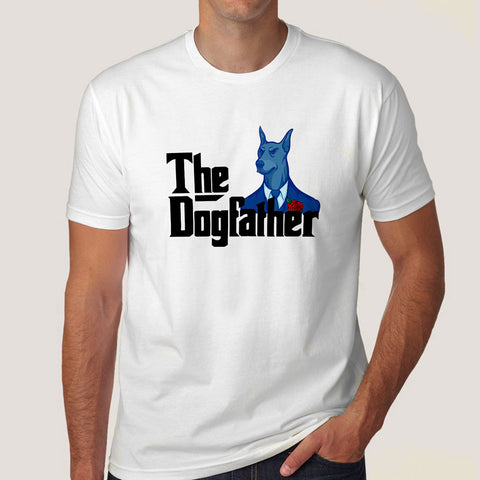 The Dog Father / God Father Parody Men's T-shirt