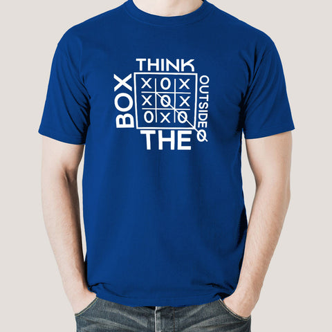 fc975dd6c Think Outside The Box Men's T-shirt – TEEZ.in