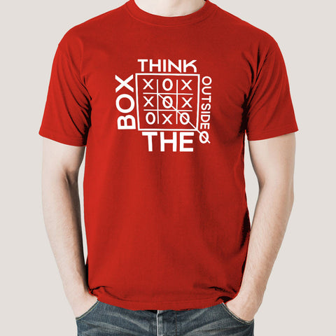 Think Outside The Box Men's T-shirt
