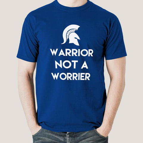 warrior not a worrier t-shirt india