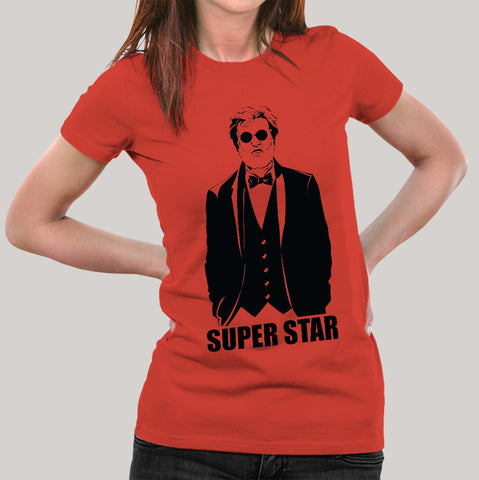 Superstar Rajinikanth Women's T-shirt