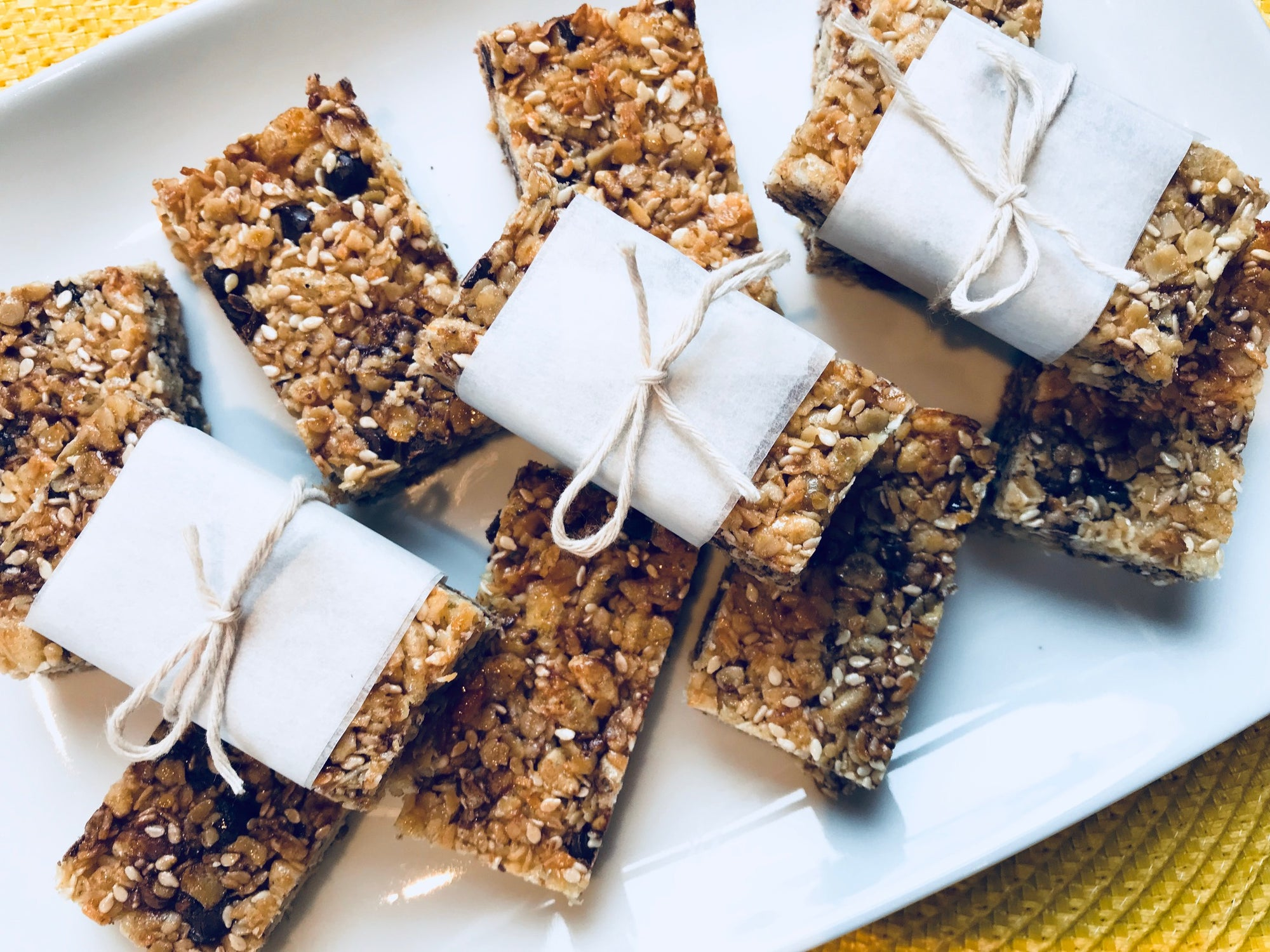 Muesli Bars - No Nuts!