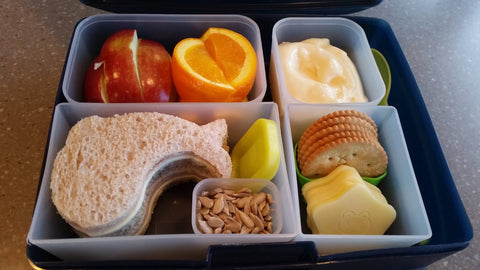 Healthy Lunch Ideas - Bento Sandwiches