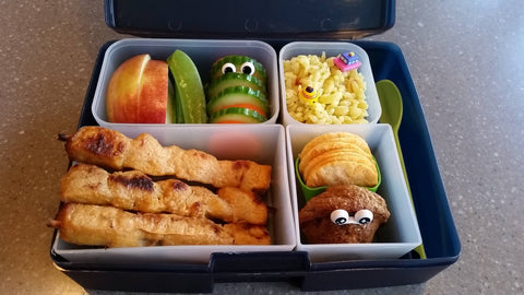 Delicious Bento Lunch Box Meal