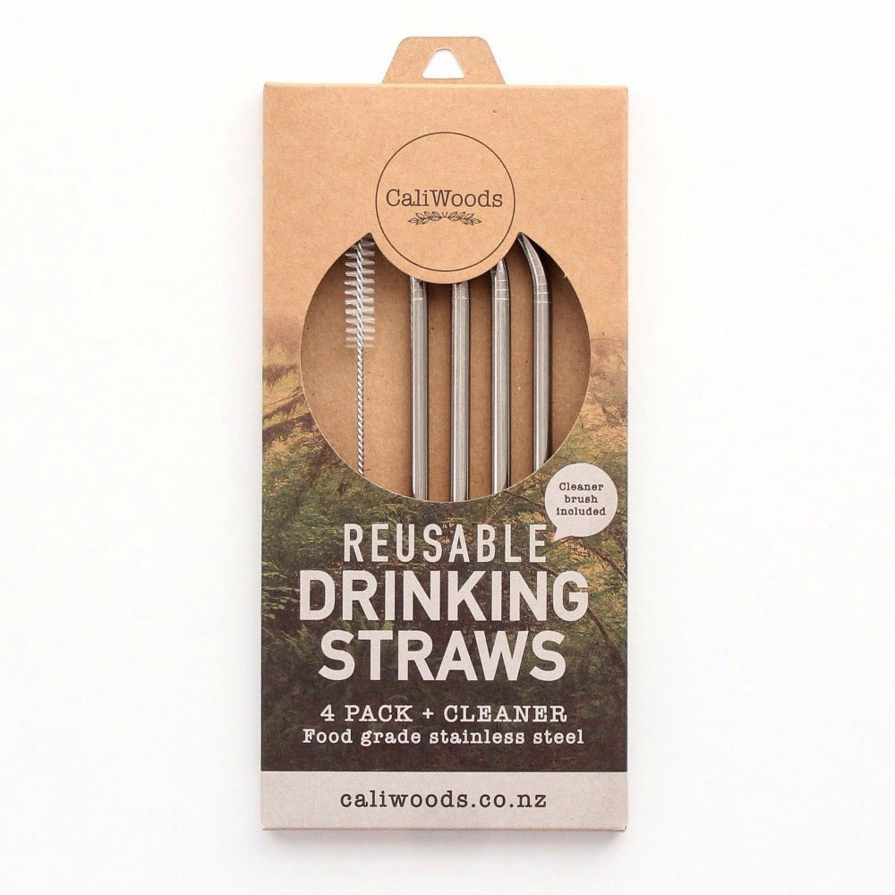CaliWoods Reusable Drinking Straws - phunkyBento