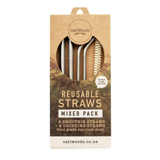 Caliwoods Reusable Straws - The Mixed Pack - phunkyBento