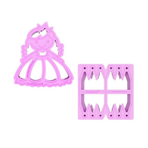 "Lunchpunch ""Princess"" Sandwich Cutters - (Set of 2) - phunkyBento"