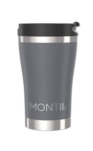 MontiiCo Regular Insulated Coffee Cup (350ml) - Grey
