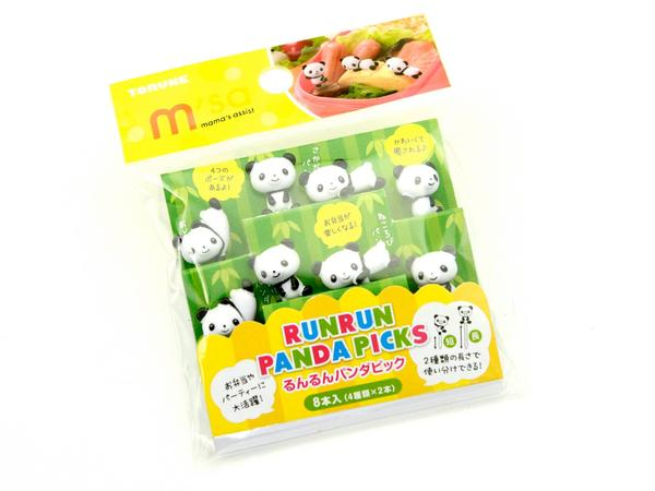 Panda Food Picks - phunkyBento