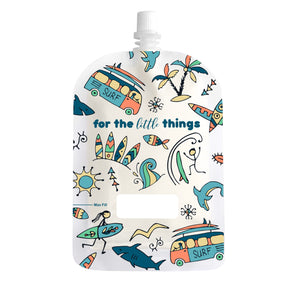 Sinchies Reusable Food Pouch | 150ml - 2pk