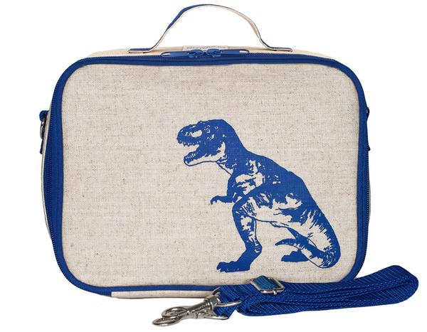 SoYoung Lunch Bag - Blue Dinosaur - phunkyBento