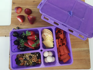 Go Green Lunch Box (Small) - Blue - phunkyBento