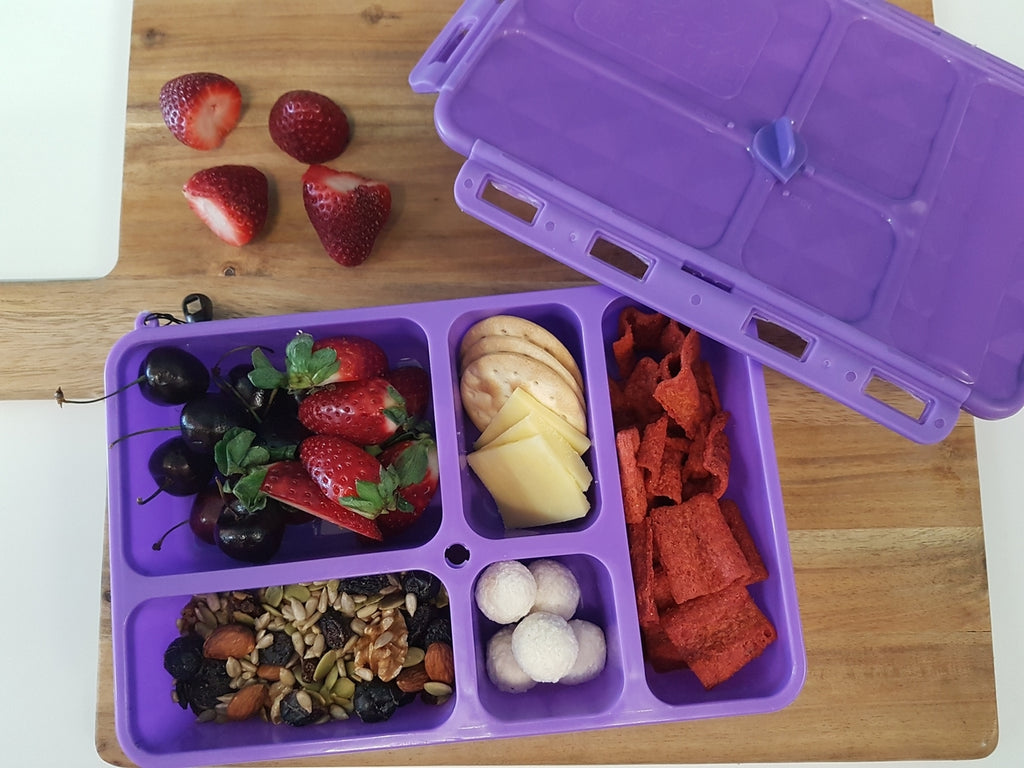 Go Green Lunch Box (Small) - Purple - phunkyBento