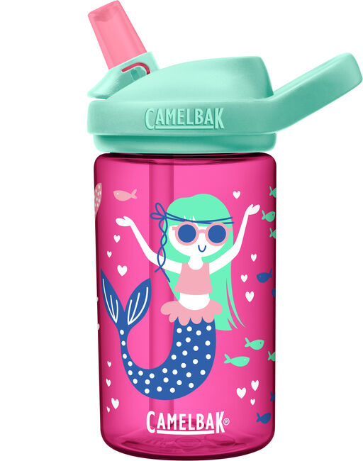 CamelBak Eddy+ Kids Drink Bottle 400ml - Mermaids & Narwhals