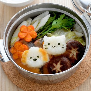 Puppy & Kitten Rice Shaper Set - phunkyBento