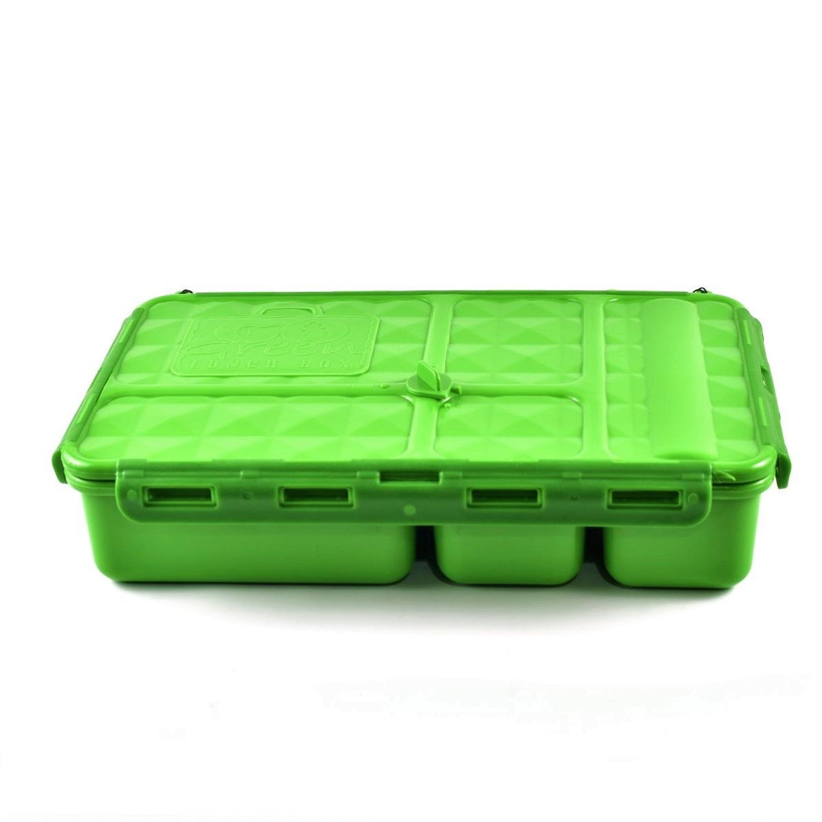 Go Green Lunch Box | LARGE - Green - phunkyBento
