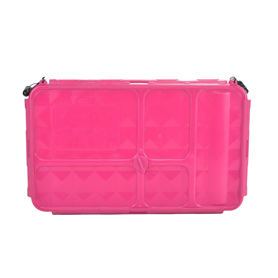 Go Green Lunch Box | LARGE - Pink - phunkyBento