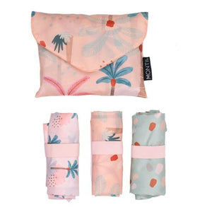 MontiiCo Shopper Bag Set - Boho Palms