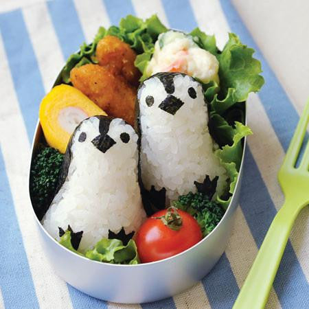 Baby Penguin Rice Mould Set - phunkyBento