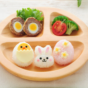 Bunny & Chick Rice Shaper Set - phunkyBento