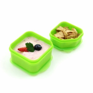 Goodbyn Dippers (Set of 2) - Neon Yellow Green - phunkyBento
