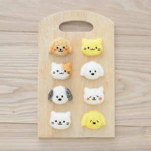 Puppy & Kitten Rice Shaper Set