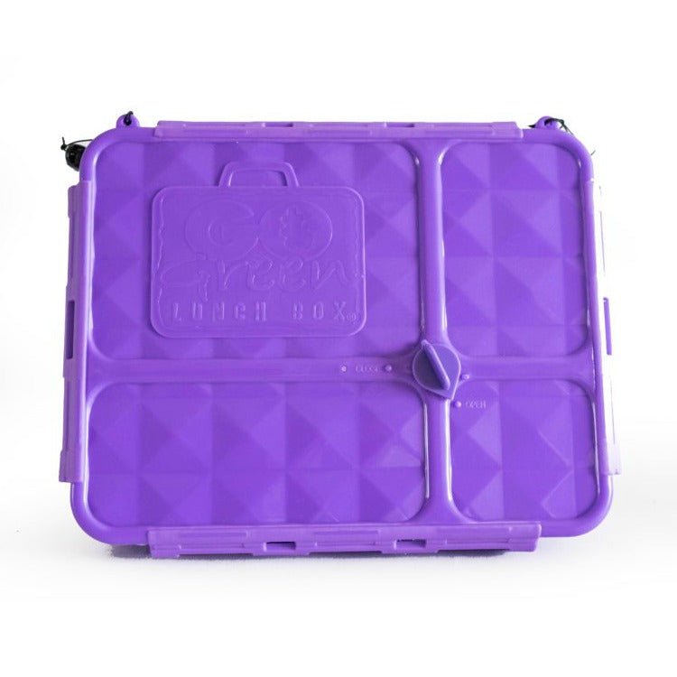 Go Green Lunch Box (Medium) - Purple - phunkyBento