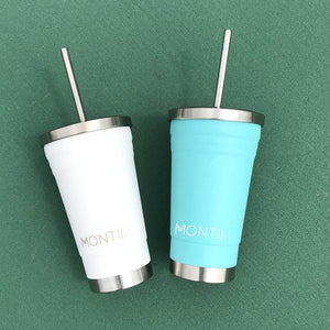 MontiiCo Smoothie Cup (450ml) - Teal - phunkyBento