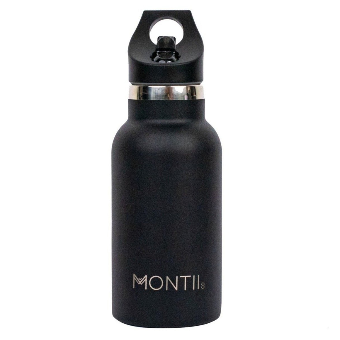 MontiiCo Mini Insulated Drink Bottle (350ml) - Black