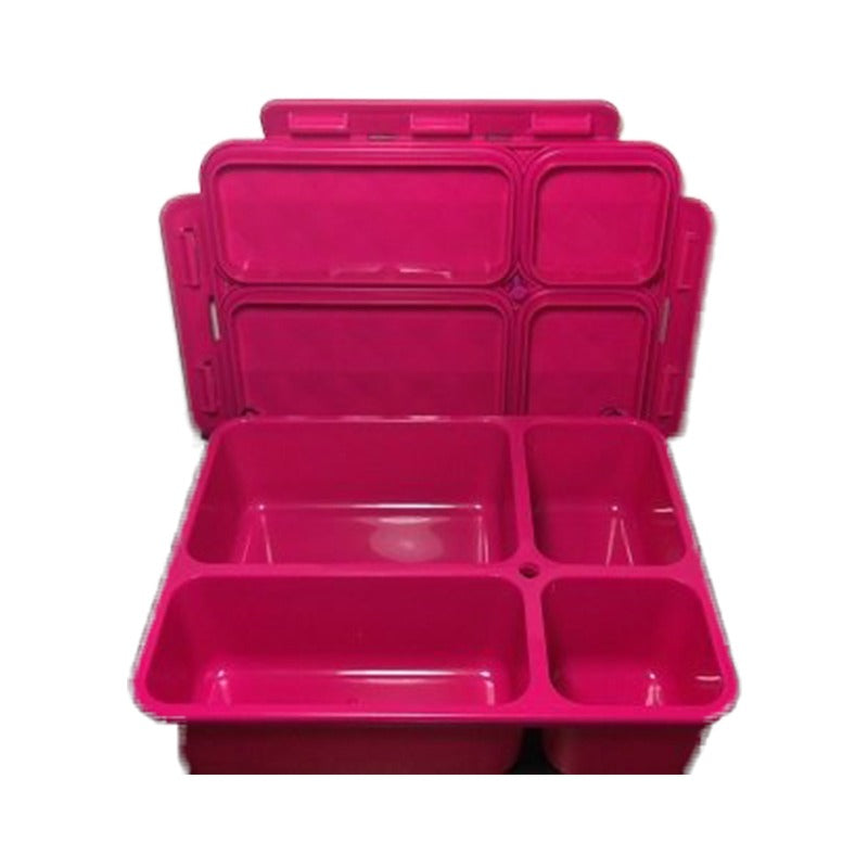 Go Green Lunch Box (Medium) - Pink - phunkyBento