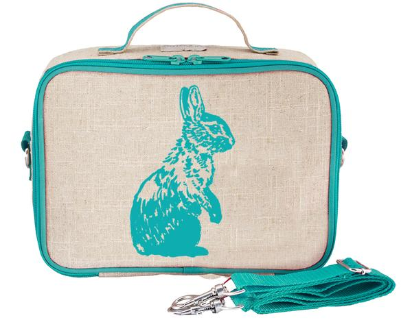 SoYoung Lunch Bag - Aqua Bunny - phunkyBento