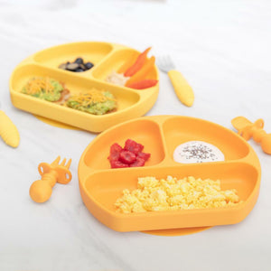 Bumkins Silicone Grip Dish - Pineapple