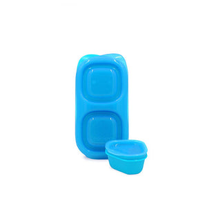 Goodbyn Snacks (NEW - now includes 1 little dipper) - Neon Blue - phunkyBento