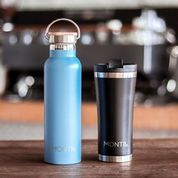 MontiiCo Insulated Drink Bottle (600ml) - Slate