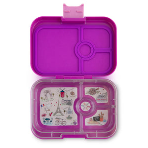 Yumbox Panino Bento Lunchbox (4 Compartment) - Bijoux Purple - phunkyBento