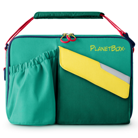 PlanetBox Insulated Carry Bag - Citrus - phunkyBento