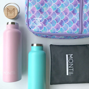 MontiiCo Insulated Lunch Bag - Mermaid - phunkyBento