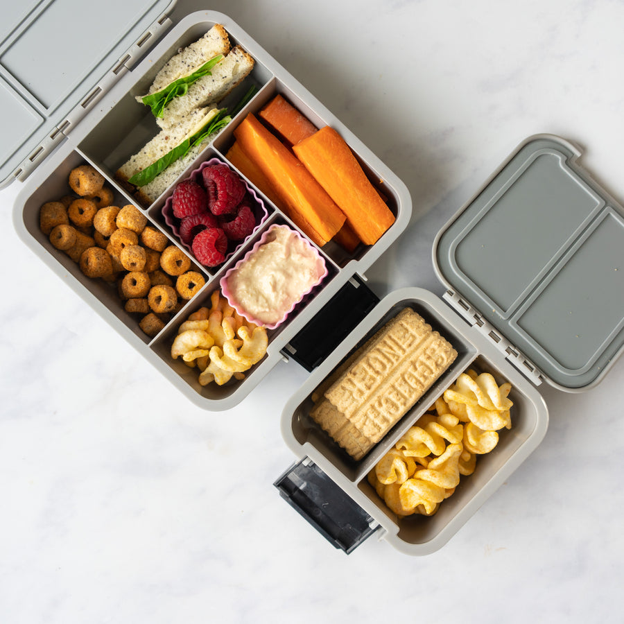Little Lunch Box Co | Bento 2 - Grey