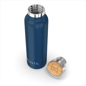 MontiiCo Insulated Drink Bottle (600ML) - Navy - phunkyBento