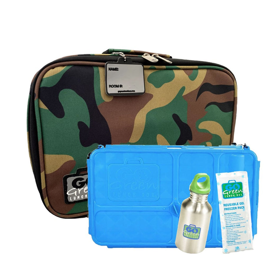 Go Green | Complete Lunch System - Green Camo