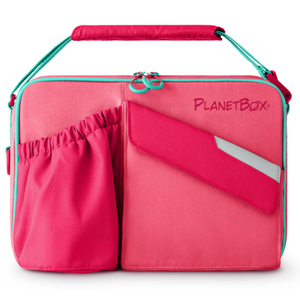 PlanetBox Insulated Carry Bag - Guava - phunkyBento