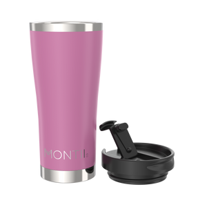 MontiiCo Mega Insulated Coffee Cup (475ml) - Rose