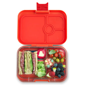 Yumbox Panino Bento Lunchbox (4 Compartment) - Safari Orange