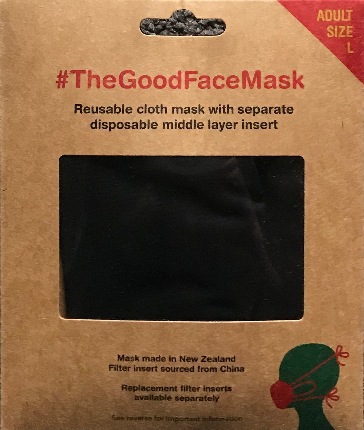 Munch | The Good Face Mask - Adult Large