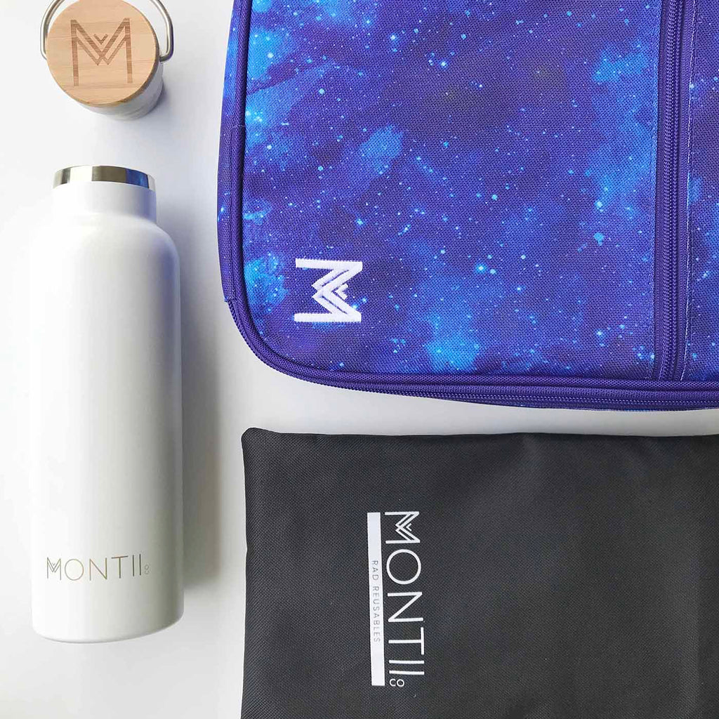 MontiiCo Insulated Lunch Bag - Galaxy - PRE-ORDER NOW! - phunkyBento