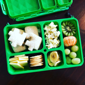 Go Green Lunch Box | SMALL - Purple - phunkyBento